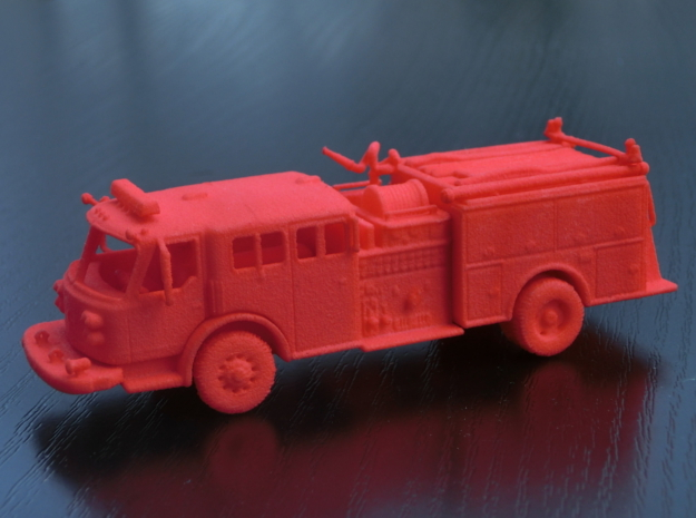 ALF Century 2000 1:87 in Red Processed Versatile Plastic