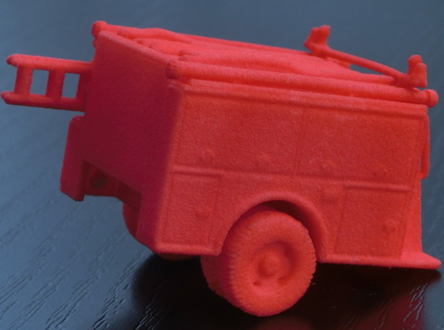 ALF Century 2000 1:87 Body in Red Processed Versatile Plastic