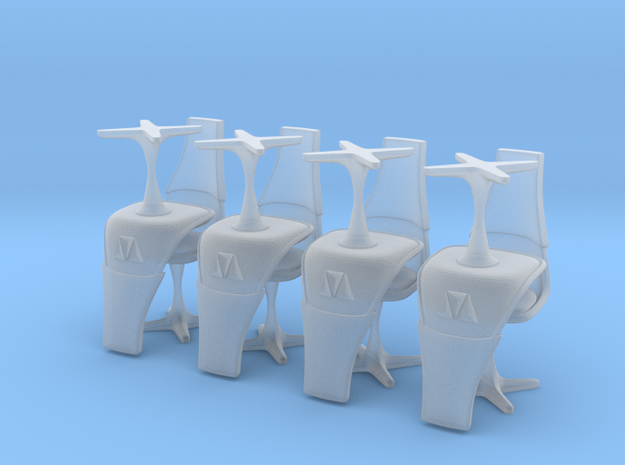 TOS Burke Chair Ver. 2 1:72 Thin -8 in Smooth Fine Detail Plastic