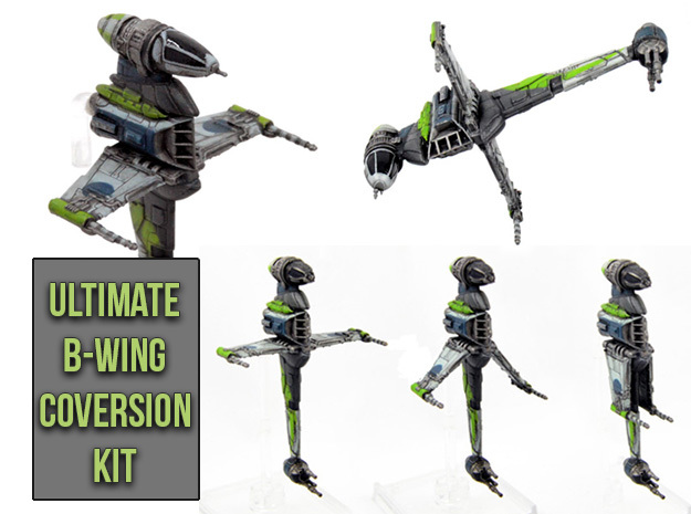 Ultimate B-wing conversion kit