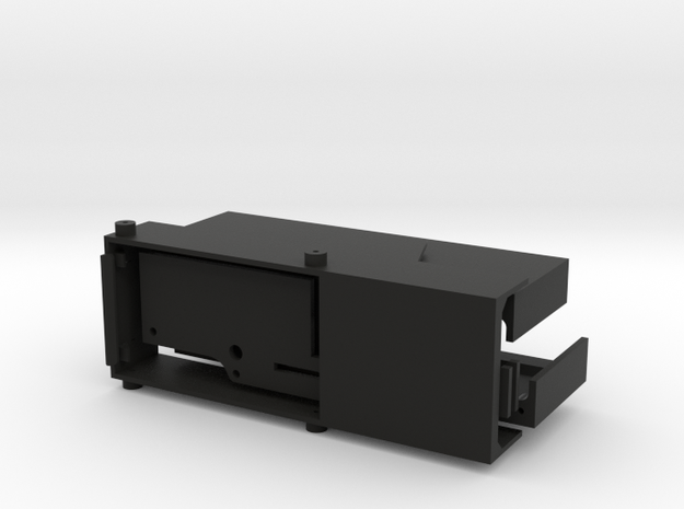 CMAX+D90 Raffee Mounts Nest in Black Natural Versatile Plastic