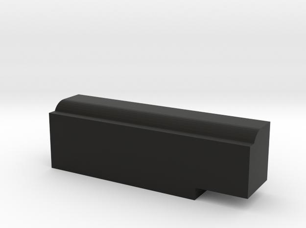 CMAX+XJ Rear Body Mount Right in Black Natural Versatile Plastic