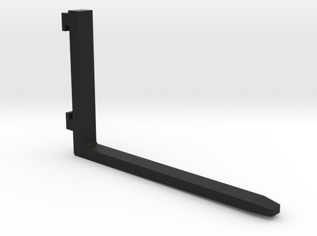 Gabel 1200mm in Black Natural Versatile Plastic