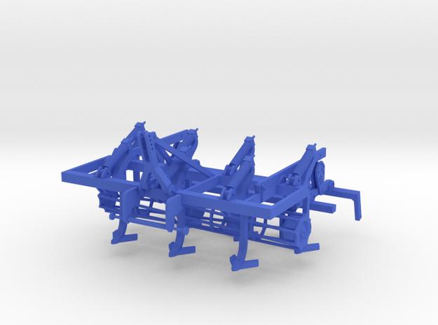 Lemken Smaragd mit Steinsicherung in Blue Processed Versatile Plastic