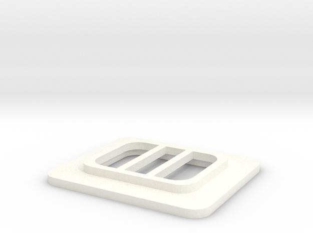 Whirlwind Mk10 Nose Vent 2 in White Processed Versatile Plastic