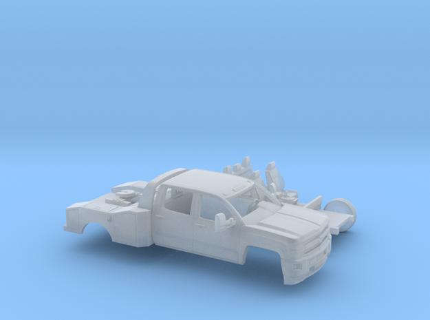1/160 2015 Chevrolet Silverado Dually HD Fith Whee in Smooth Fine Detail Plastic