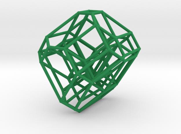 Cyclohedron in Green Processed Versatile Plastic