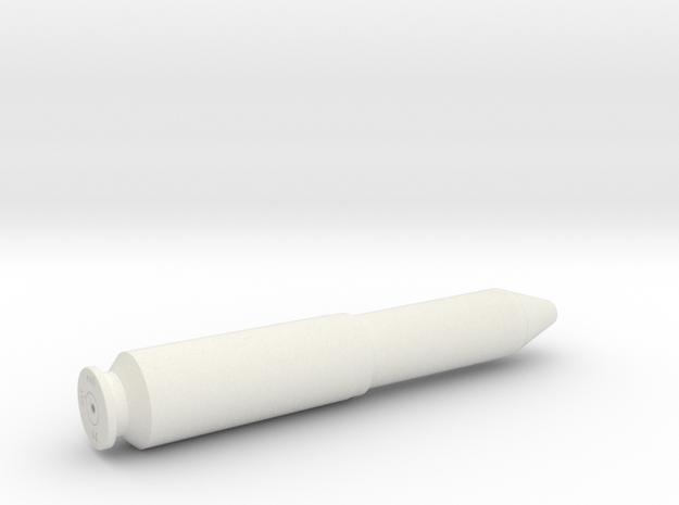 MK108 30x90 Shell 1:1 in White Natural Versatile Plastic