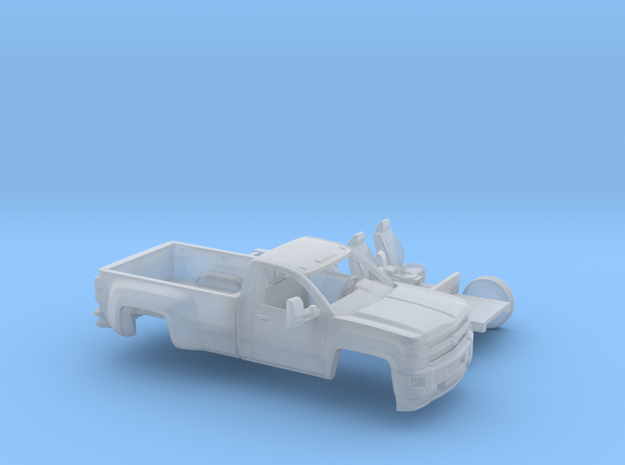 1/160 2015 Chevrolet Silverado HD Reg. Cab Long Be in Frosted Ultra Detail