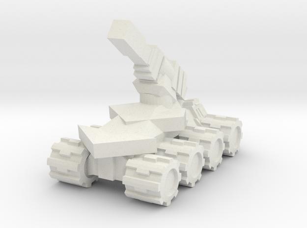 Rim Bastion Drone Artilery in White Natural Versatile Plastic