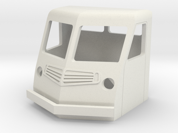 Fs-1-101-far-cab-1a in White Natural Versatile Plastic