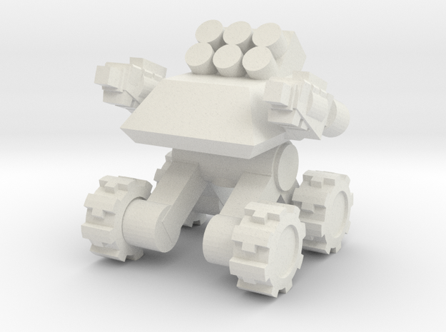 Rim Bastion Infantry Support Drone in White Natural Versatile Plastic