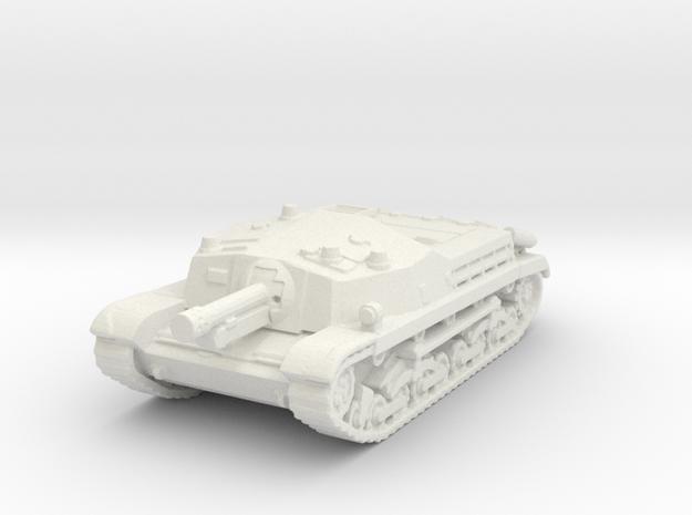 Zrinyi tank (Romania)  1/144 in White Natural Versatile Plastic