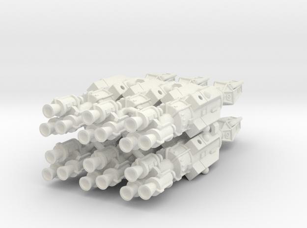 Frontier Destroyer 6 Sprue in White Natural Versatile Plastic