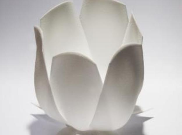 Tulip candle holder 3d printed Description