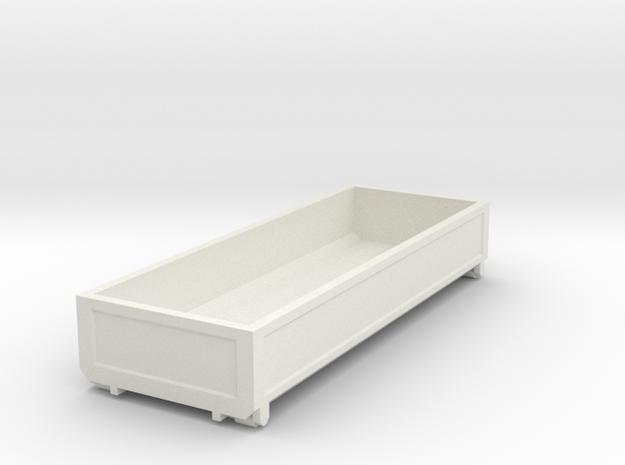 1052 Box in White Natural Versatile Plastic: 1:87 - HO