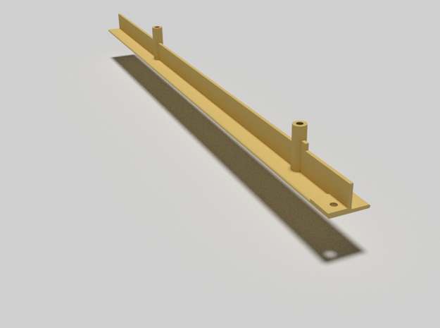 Elevator rail/pole/support beam for 1980s Castle G 3d printed