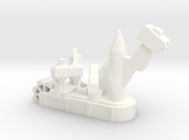 Fantasy Fleet Crusher in White Processed Versatile Plastic