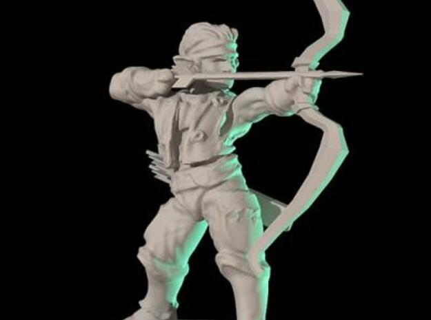 Elven archer 3d printed Description