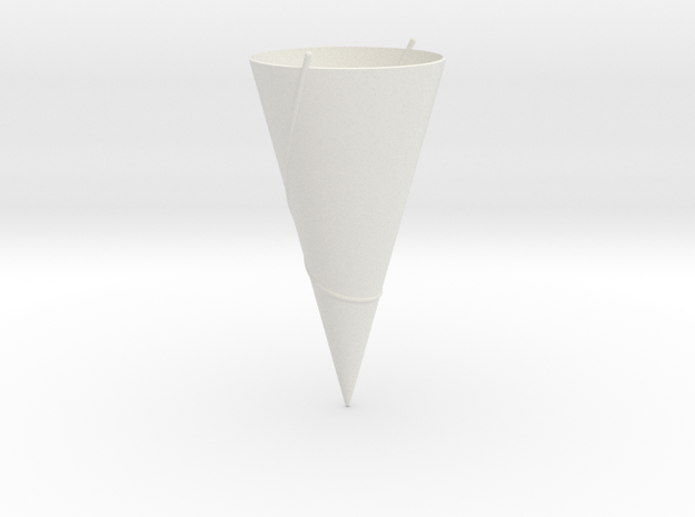 90 Degree Cone: Geodesics in White Strong & Flexible
