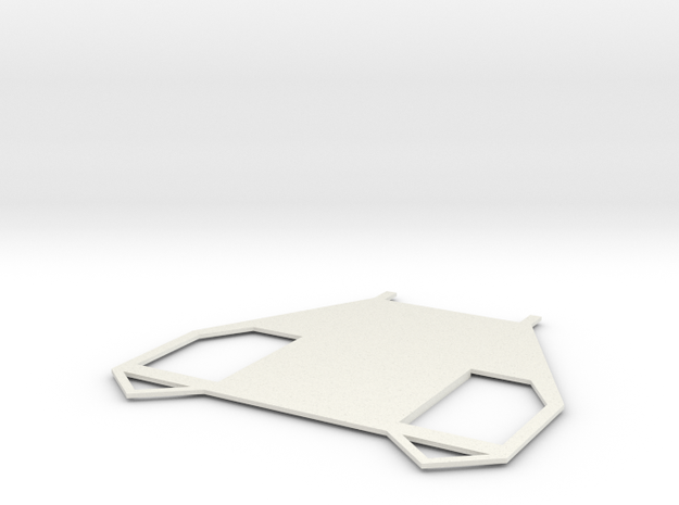 Bot Plate in White Strong & Flexible