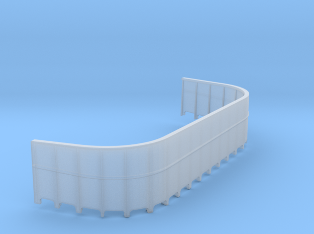 1/72 USN 20mm Gun Tub Port in Smooth Fine Detail Plastic