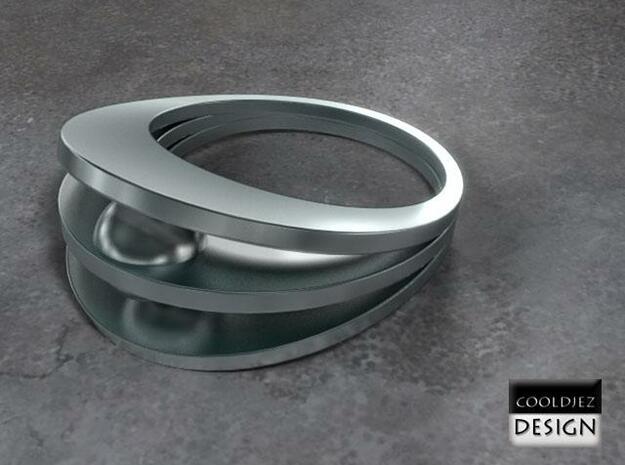Ring - Bend1 3d printed Render