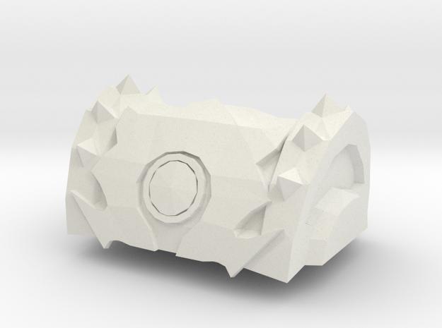 Horde-Chest-tampa in White Natural Versatile Plastic