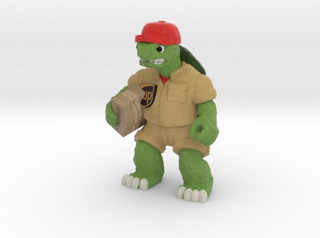 Day-Job Tortoise, Delivery (Sandstone) in Full Color Sandstone