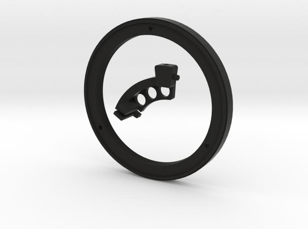 Meyer Oreston 1.8/50 (Exacta) converter to Nikon in Black Natural Versatile Plastic