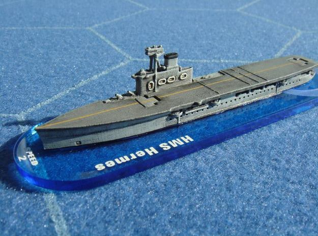 HMS Hermes 1/1800 in White Natural Versatile Plastic
