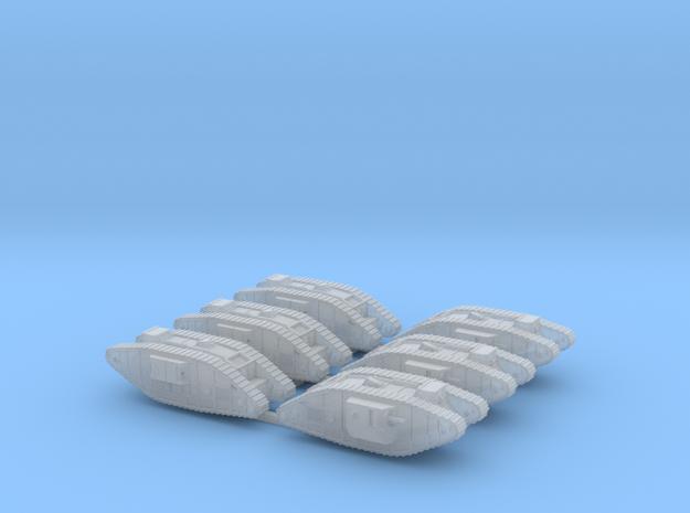 1/350 Mark IV in Smoothest Fine Detail Plastic
