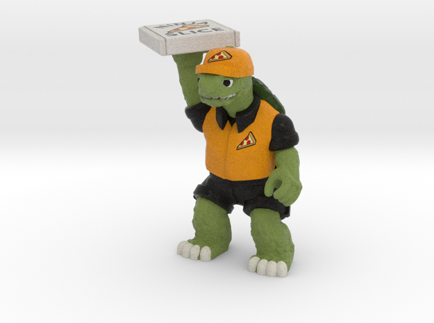 Day-Job Tortoise, Food Service (Sandstone)