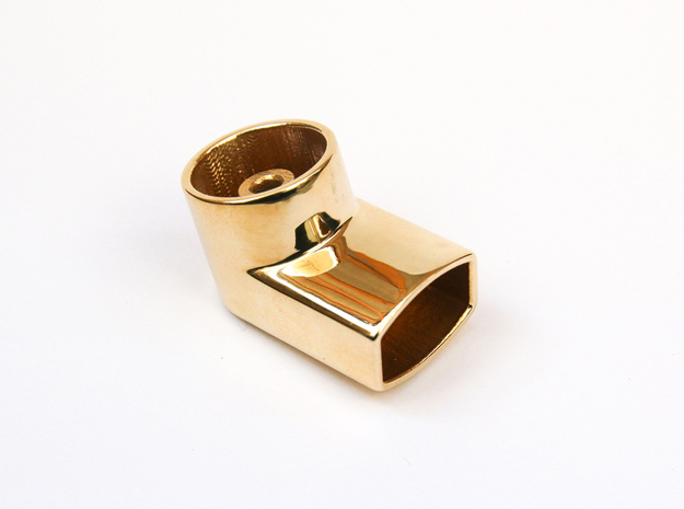 Jewelry-Inhaler Brass in Polished Brass