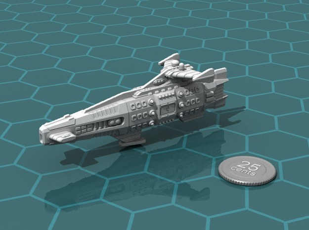 Ikennek Battlecruiser in White Strong & Flexible