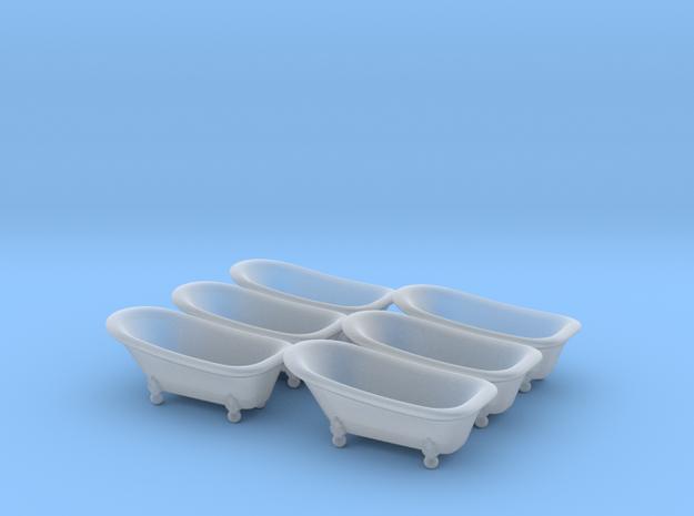 Classic bathtube 01. HO Scale (1:87)