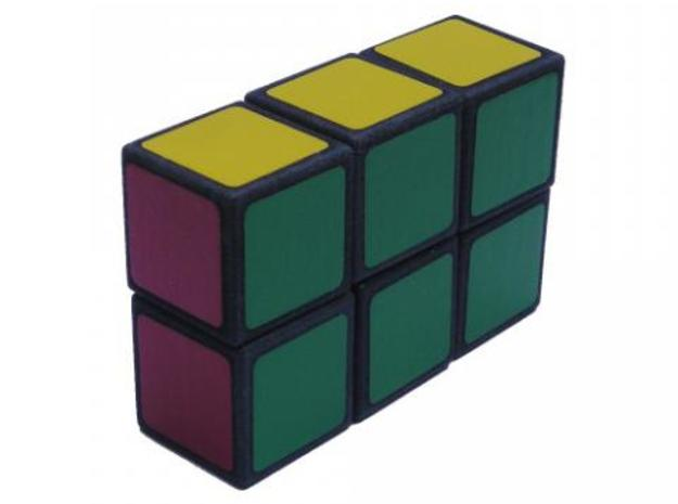 Easy Cuboid: 1x2x3 in White Strong & Flexible