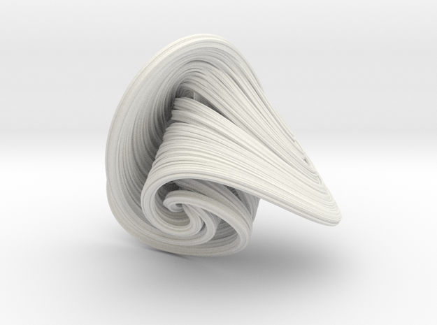 Halvorsen Attractor in White Strong & Flexible
