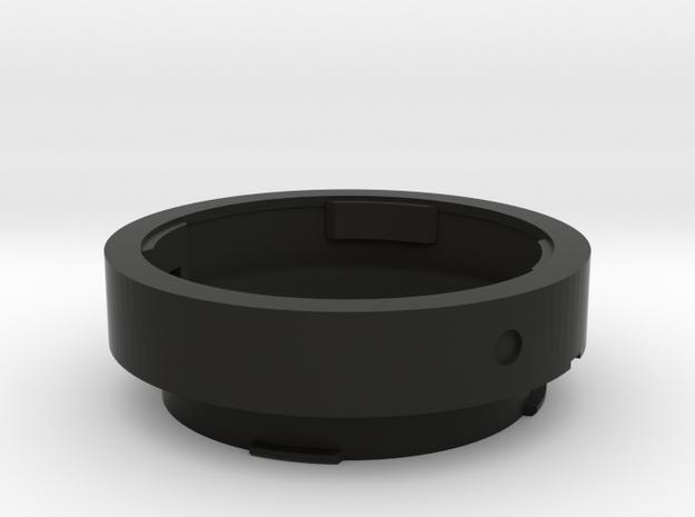 Leica M OUFRO Macro adapter in Black Strong & Flexible