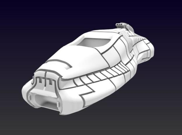 Rommel Destroyer 3d printed Front View