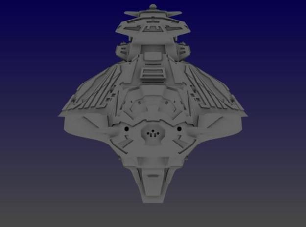 Aztec Heavy Cruiser 3d printed Front View