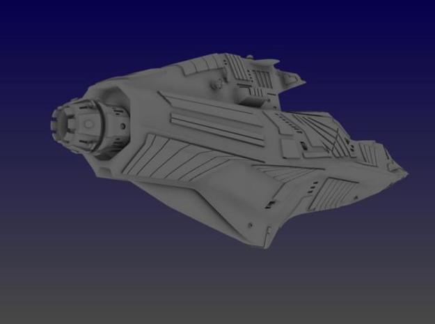 Aztec Heavy Cruiser 3d printed Rear View