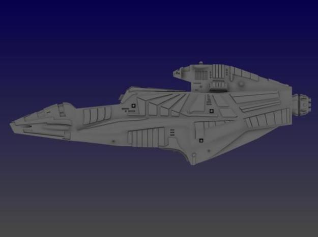 Aztec Heavy Cruiser 3d printed Side View