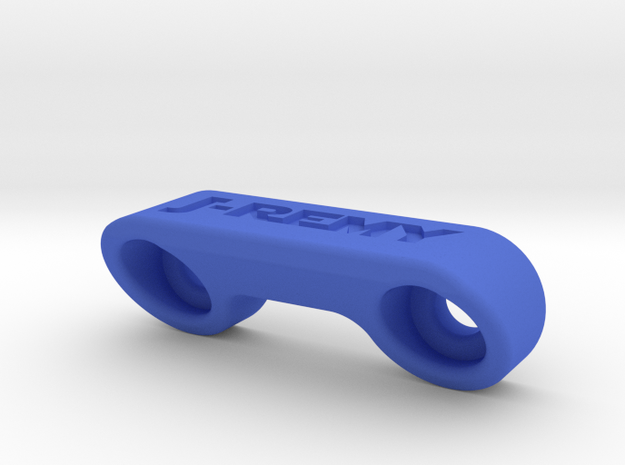 Team Associated B6 B6D Body Support in Blue Strong & Flexible Polished