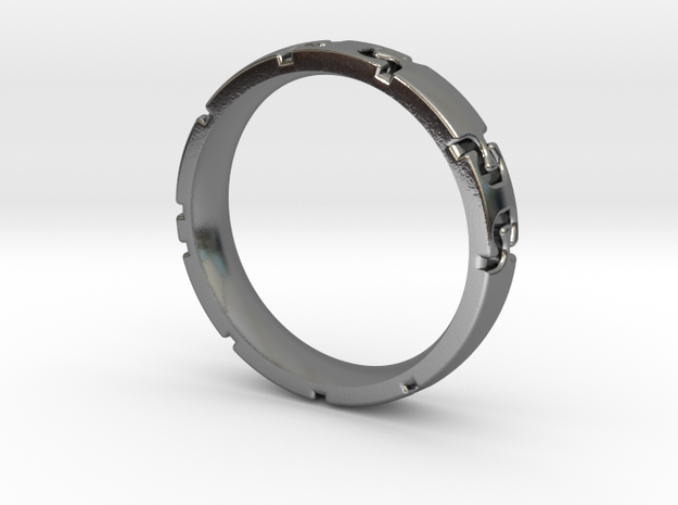 Puzzle connections Ring
