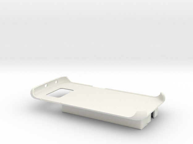 Galaxy S6 / Dexcom SLIM Case - Nightscout or Share in White Strong & Flexible