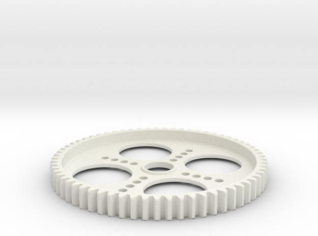 Spur Gear 65T (5mm wide) in White Strong & Flexible