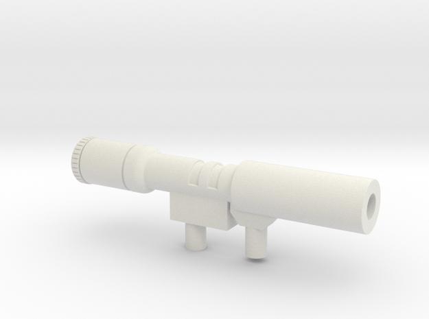 Megatron-kanon in White Strong & Flexible