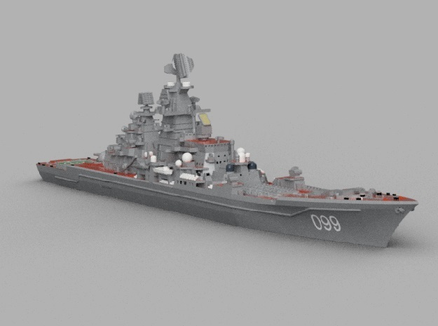 1/1800 RFS Pyotr Velikiy in Smooth Fine Detail Plastic