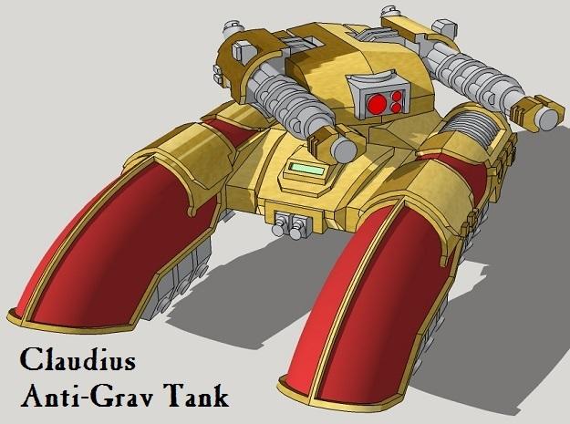 6mm Claudius Anti-Grav Tanks (4pcs)